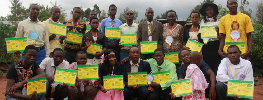 O4O Students graduating from growing health institute