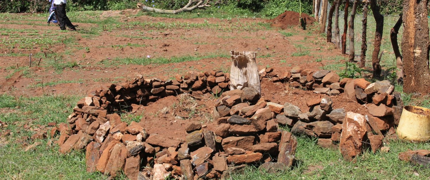Pokot County Project Keyhole Garden